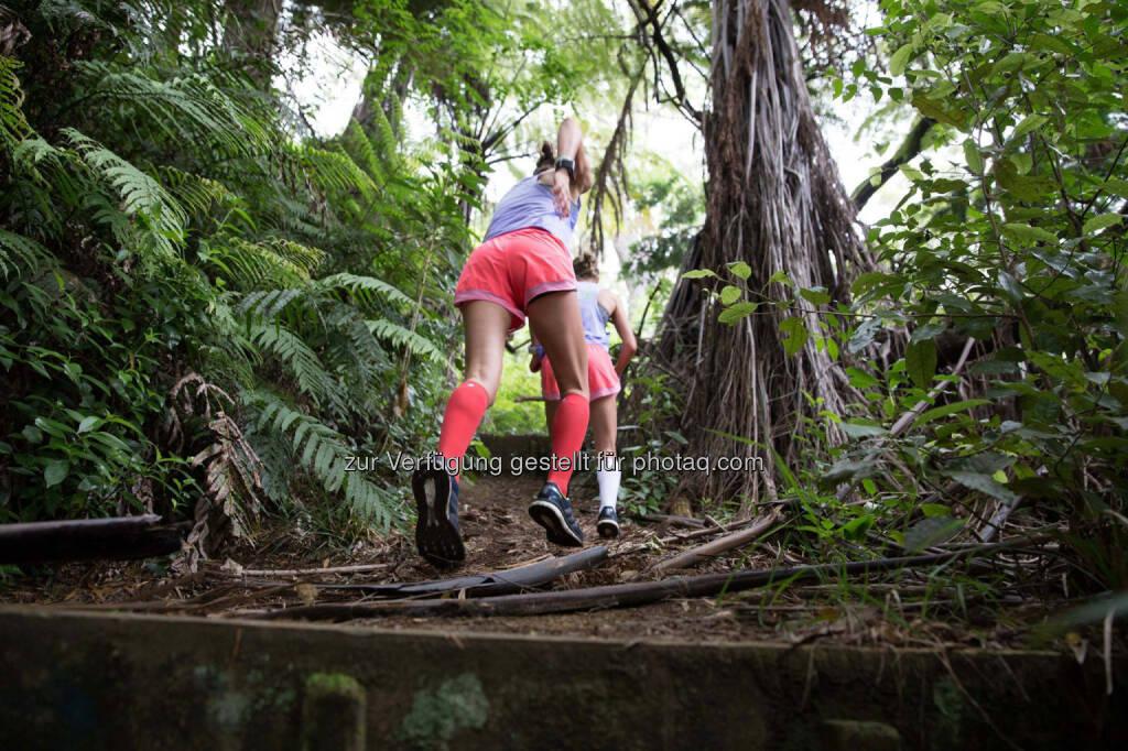Lisa und Anna Hahner in Rotorua, NZ, &copy; <a href=