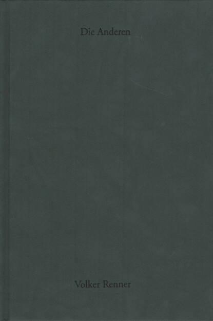 Volker Renner - Die Anderen, Textem Verlag 2013, Cover - http://josefchladek.com/book/volker_renner_-_die_anderen, © (c) josefchladek.com (21.12.2015)