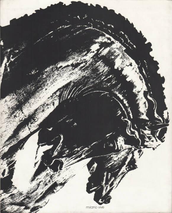 Dante Bighi - Milano Vive, Stampa Poligrafica Boroni 1983, Cover -http://josefchladek.com/book/dante_bighi_-_milano_vive