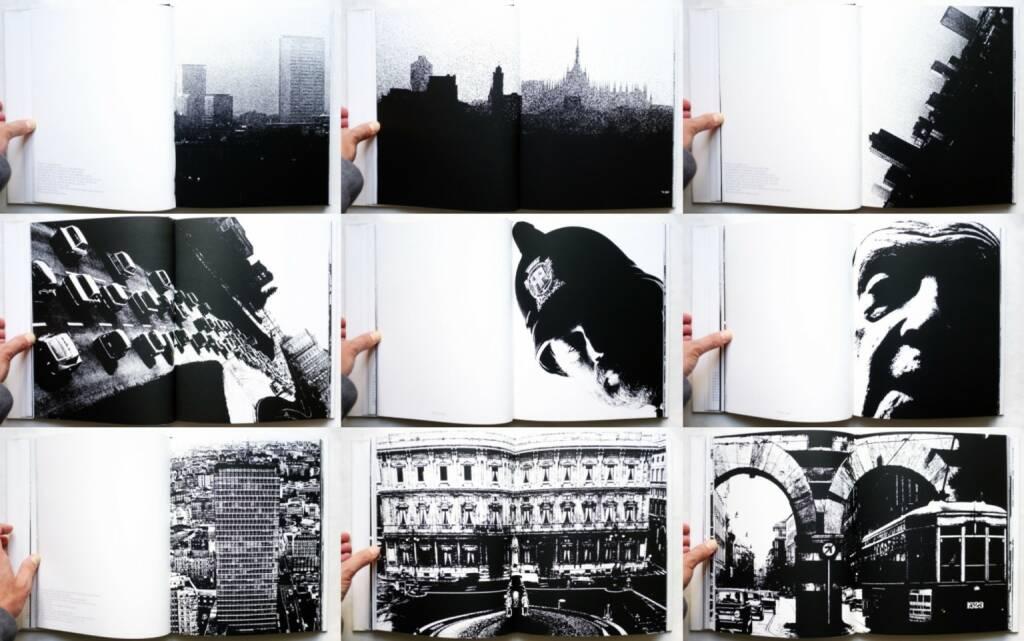 Dante Bighi - Milano Vive, Stampa Poligrafica Boroni 1983, Beispielseiten, sample spreads -http://josefchladek.com/book/dante_bighi_-_milano_vive, © (c) josefchladek.com (22.12.2015)