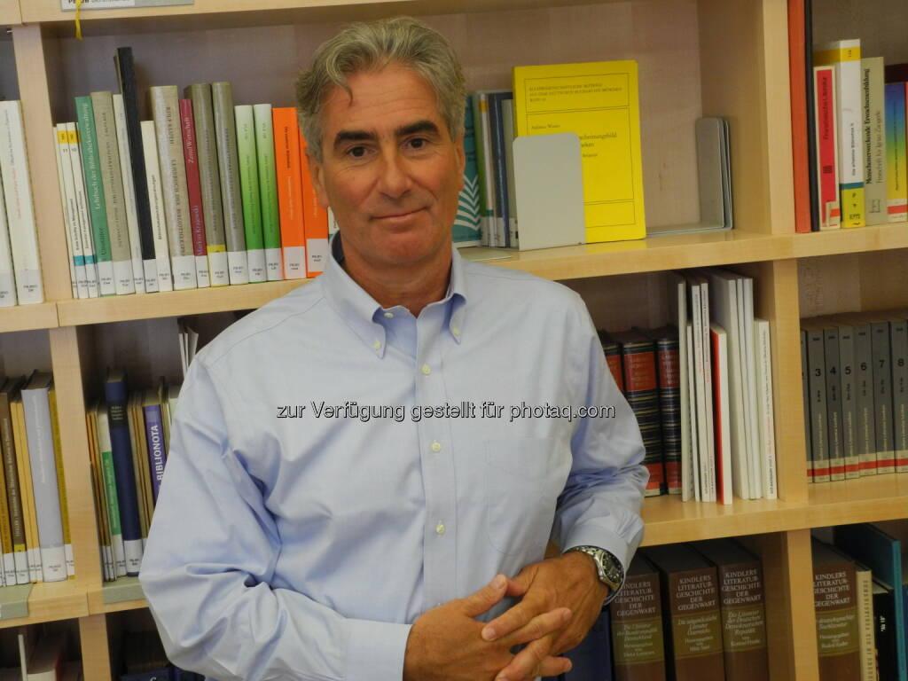 Gerald Leitner : Der Weltverband der Bibliotheken, IFLA, bestellt Gerald Leitner, Geschäftsführer des Büchereiverbandes Österreichs, zum neuen Generalsekretär : Fotocredit: BVÖ, © Aussendung (22.12.2015)