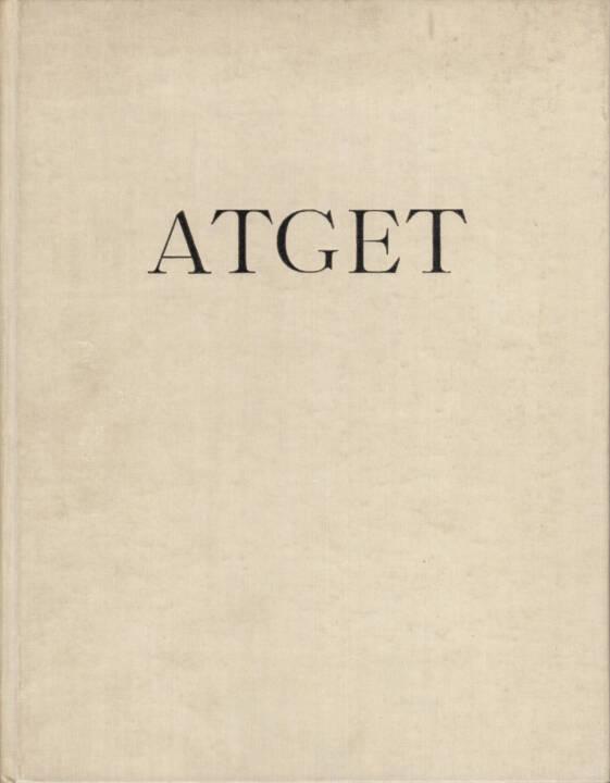 Eugene Atget - Lichtbilder, Henri Jonquières 1930, Cover - http://josefchladek.com/book/eugene_atget_-_lichtbilder