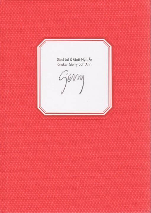 Gerry Johansson - God Jul & Gott Nytt Ar, GunGallery 2011, Cover - http://josefchladek.com/book/gerry_johansson_-_god_jul_gott_nytt_ar