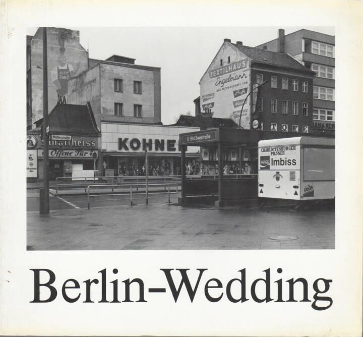 Michael Schmidt - Berlin-Wedding, Galerie u. Verlag A. Nagel 1978, Cover - http://josefchladek.com/book/michael_schmidt_-_berlin_-_wedding