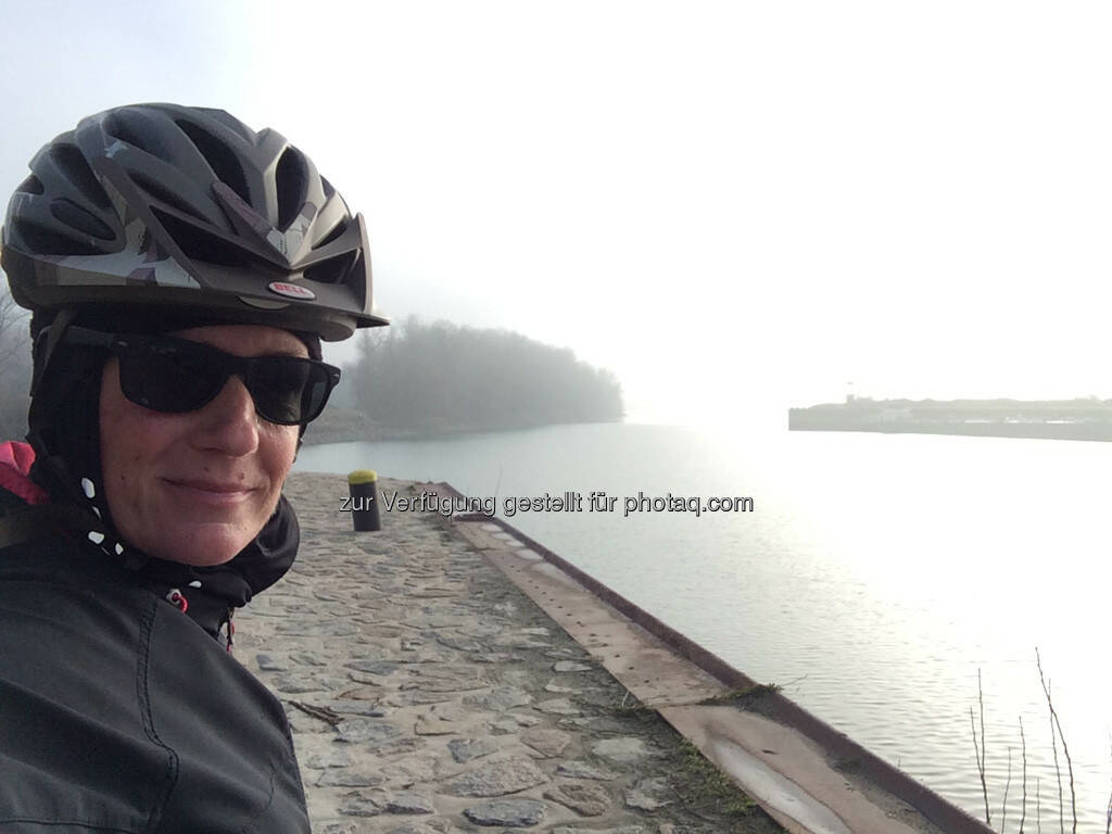 Radfahrer, © Martina Draper (26.12.2015)