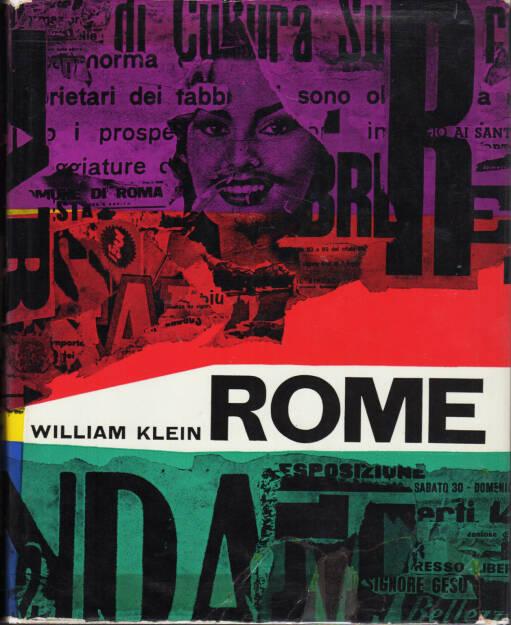 William Klein - Rome (1959), 400-1000 Euro, http://josefchladek.com/book/william_klein_-_rome, © (josefchladek.com ) (27.12.2015)