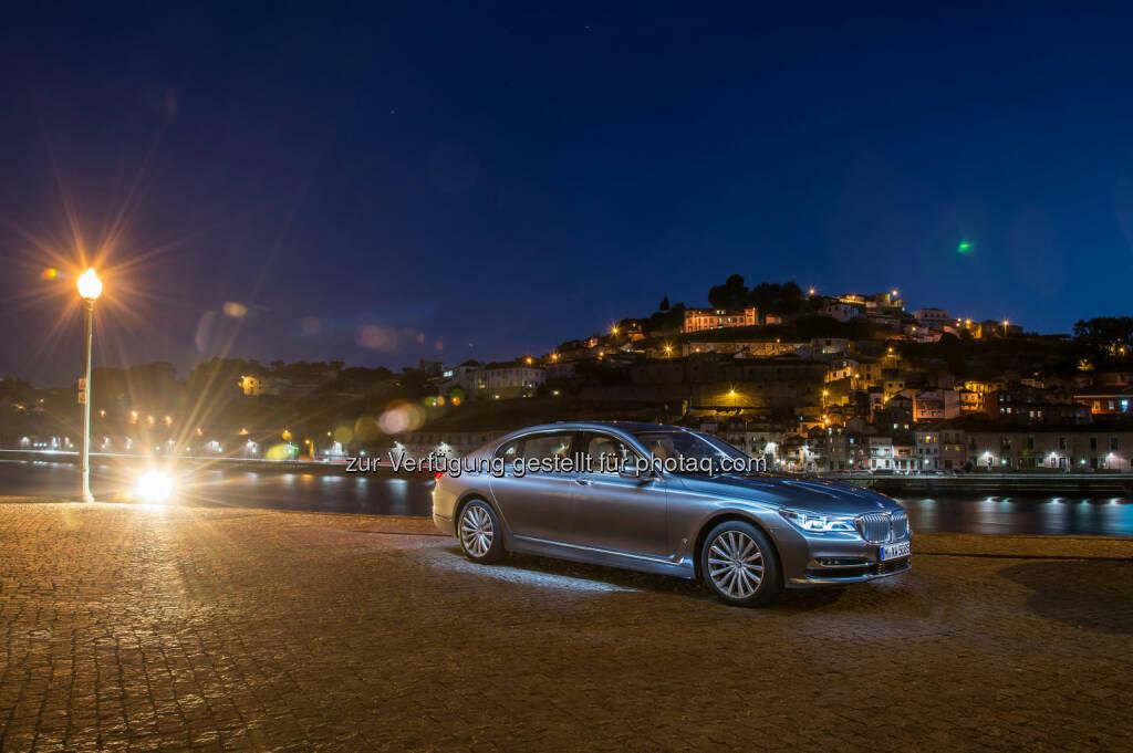 Neuer BMW 750Li xDrive : Auszeichnungen, Preise und Awards für BMW 2015. Position als Trendsetter bei Innovationen, Design, Qualität und Nachhaltigkeit weltweit bestätigt : Fotocredit: BMW Group, © Aussendung (29.12.2015)