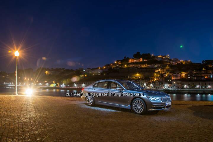 Neuer BMW 750Li xDrive : Auszeichnungen, Preise und Awards für BMW 2015. Position als Trendsetter bei Innovationen, Design, Qualität und Nachhaltigkeit weltweit bestätigt : Fotocredit: BMW Group
