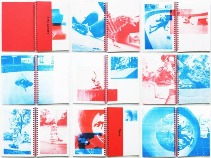 Dom Forde - Ramps, Pools, Ponds and Pipes, Self published 2015, Beispielseiten - http://josefchladek.com/book/dom_forde_-_ramps_pools_ponds_and_pipes