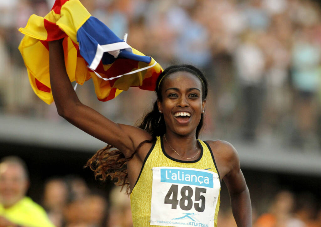 Yes Genzebe Dibaba,<a href=http://www.shutterstock.com/gallery-224068p1.html?cr=00&pl=edit-00>Maxisport</a> / <a href=http://www.shutterstock.com/editorial?cr=00&pl=edit-00>Shutterstock.com</a>, Maxisport / Shutterstock.com, © shutterstock.com (04.01.2016)