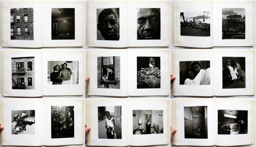 Bruce Davidson - East 100th Street, Harvard University Press 1970, Beispielseiten, sample spreads - http://josefchladek.com/book/bruce_davidson_-_east_100th_street, © (c) josefchladek.com (04.01.2016)