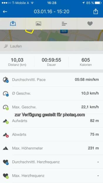 10 Kilometer am 3. Jänner, © Angelika Altmann-Haumer (04.01.2016)