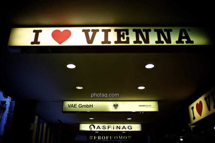 I love Vienna, VAE, voestalpine, ASFINAG