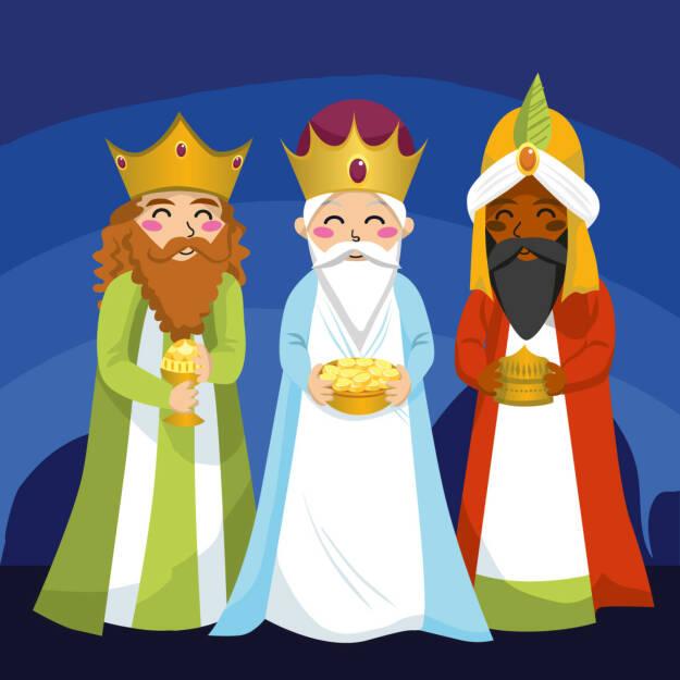 Drei Könige, heiligen drei Könige, 3 Königstag http://www.shutterstock.com/de/pic-66980008/stock-vector-three-wise-men-bring-gifts-to-jesus-on-christmas.html, © www.shutterstock.com (05.01.2016)
