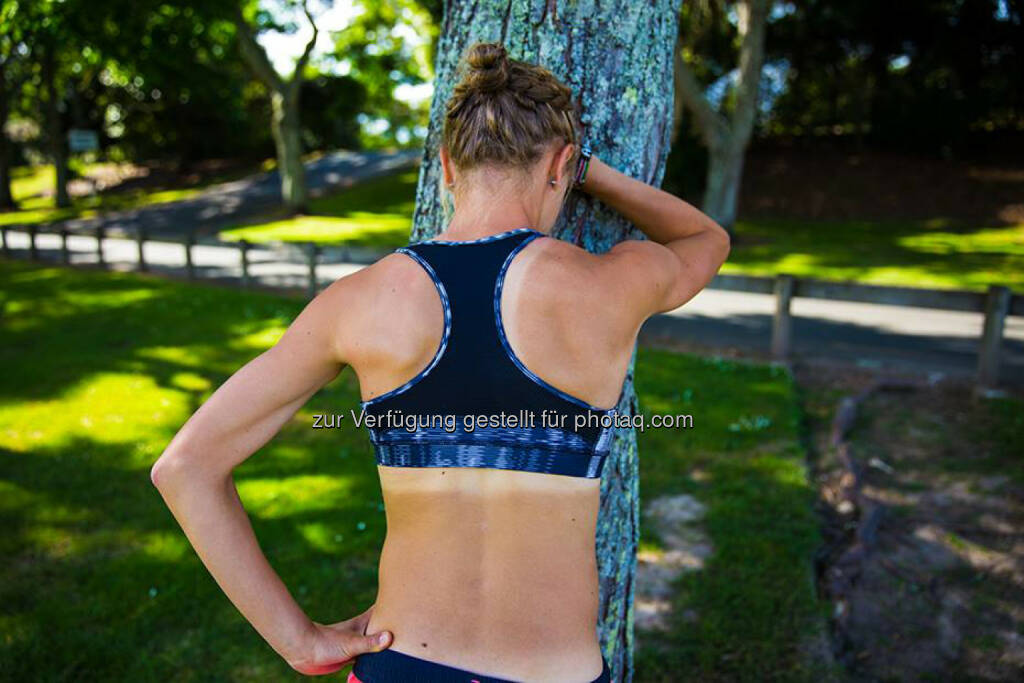 Anna Hahner: Das Training hinterlässt Spuren... 2h50' um den Hamilton Lake und am Waikato River entlang. erschöpft, verschnaufen, Pause, hart, anstrengend, &copy; <a href=