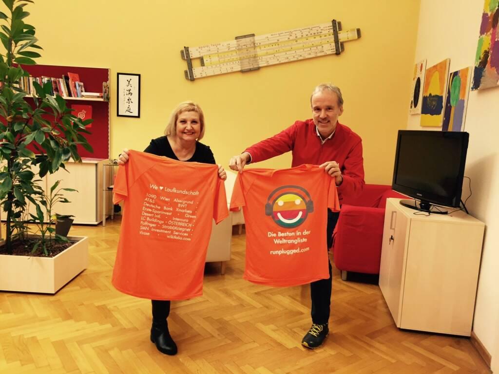 We Love Laufkundschaft: 1090 Bezirksvorsteherin Martina Malyar und Christian Drastil (07.01.2016)