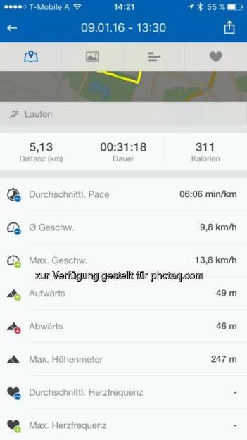 Lauf am 9.1., © Angelika Altmann-Haumer (09.01.2016)