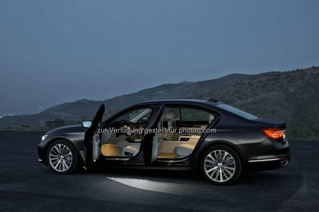 Der neue BMW 7er 750Li xDrive : BMW und MINI auf der Vienna Autoshow 2016 : Innovative Fortbewegung auf höchstem technischem Niveau steht 2016 im Mittelpunkt des Auftrittes von BMW : © BMW Group, © Aussendung (12.01.2016)