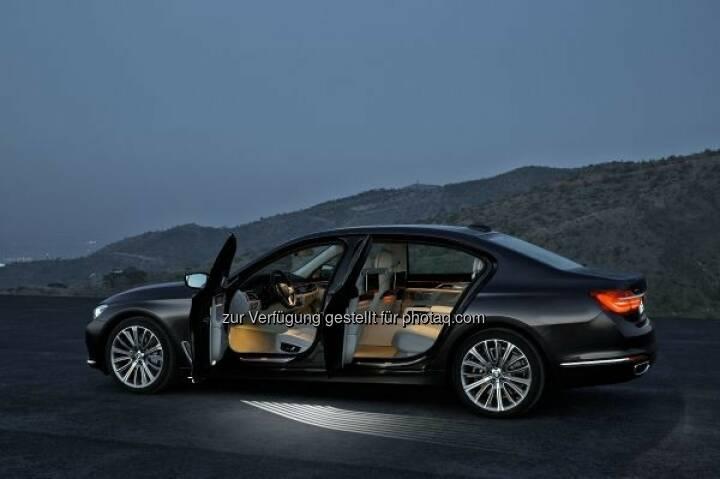 Der neue BMW 7er 750Li xDrive : BMW und MINI auf der Vienna Autoshow 2016 : Innovative Fortbewegung auf höchstem technischem Niveau steht 2016 im Mittelpunkt des Auftrittes von BMW : © BMW Group