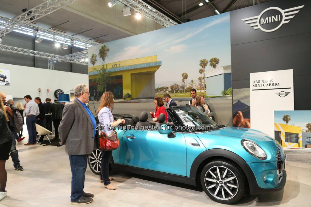 BMW und MINI auf der Vienna Autoshow 2016 : Gegenwart und Zukunft der Fahrfreude vereinen sich in den Modellneuheiten der Marken BMW und MINI : Fotocredit: BMW Group in Österreich/APA-Fotoservice/Schedl, © Aussendung (13.01.2016)