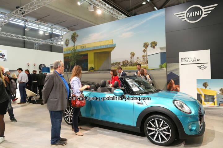 BMW und MINI auf der Vienna Autoshow 2016 : Gegenwart und Zukunft der Fahrfreude vereinen sich in den Modellneuheiten der Marken BMW und MINI : Fotocredit: BMW Group in Österreich/APA-Fotoservice/Schedl