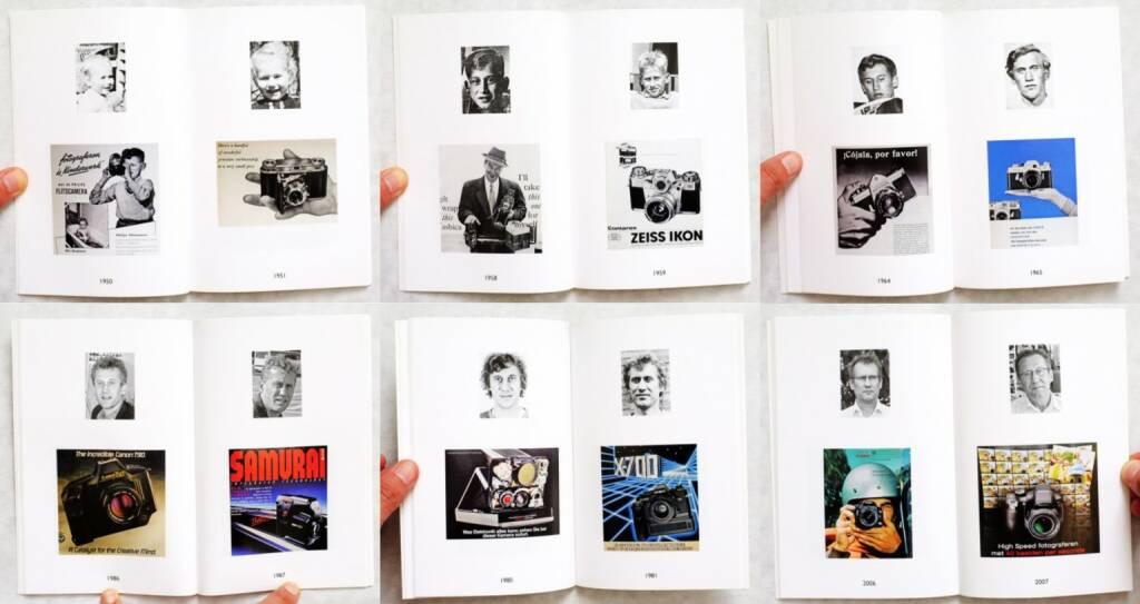 Hans Eijkelboom - Portraits and Cameras. 1949 - 2009, Self published 2009, Beispielseiten, sample spreads - http://www.josefchladek.com/book/hans_eijkelboom_-_portraits_and_cameras_1949_-_2009, © (c) josefchladek.com (16.01.2016)