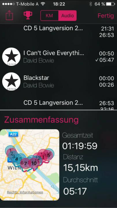 Blackstar von Bowie im Mix mit unserer 25 Jahre ATX Langversion CD 5 auf http://www.runplugged.com/app