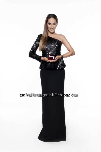 Bianca Schwarzjirg (Moderation) : Das große Finale von Austria's next Topmodel 2015/16 am 19. Jänner um 20:15 Uhr exklusiv auf PULS 4 : Fotocredit: PULS 4/ Gerry Frank Photography, © Aussendung (18.01.2016)