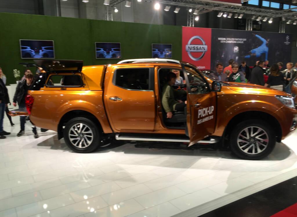 Nissan mit dem Pick-Up des Jahres (19.01.2016)