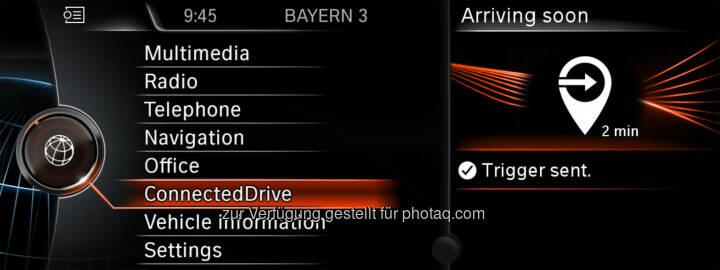 BMW ConnectedDrive, BMW Labs : Ein Online-Labor für ConnectedDrive Services : BMW Group ist weltweit erster Automobilhersteller mit Anbindung an IFTTT :  © BMW Group