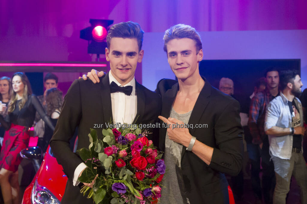 Fabian, Oliver Stummvoll (Vorjahressieger): Fabian ist Austria's next Topmodel 2015/16 auf PULS 4 : Fotocredit: PULS 4/Frank, © Aussendung (20.01.2016)