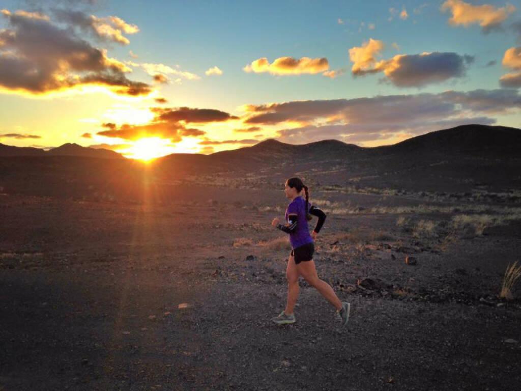 Monika Kalbacher auf Fuerteventura, Sonnenaufgang, © Diverse  (20.01.2016)