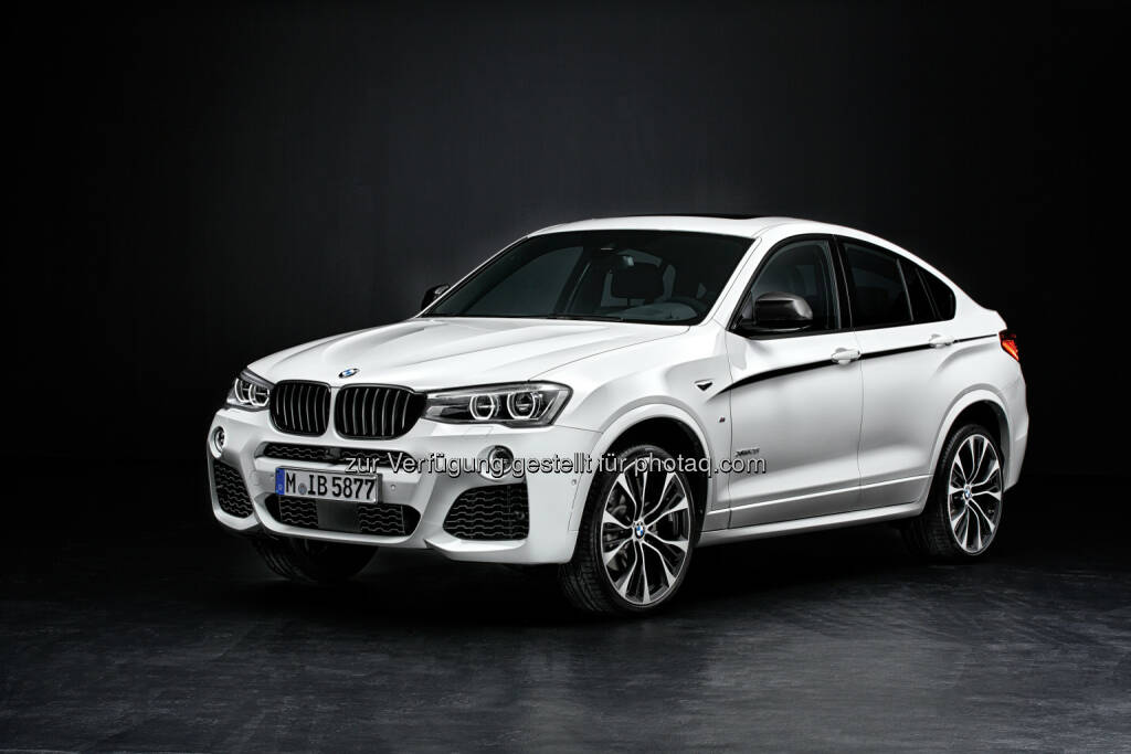 BMW X4 mit M Performance Parts : BMW Group auf Platz 1 im Global 100 Ranking von Corporate Knights : © BMW Group, © Aussendung (21.01.2016)