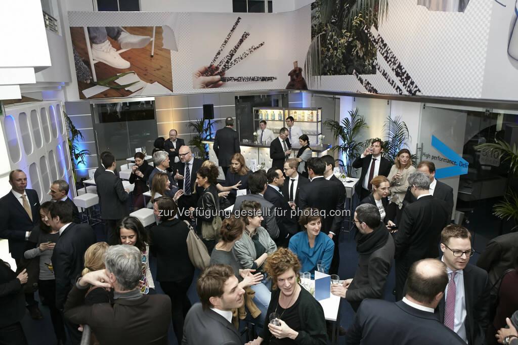 Der artstripe im Accenture Office, © Fotocredit: K.Rossboth/APA/Accenture (22.01.2016)