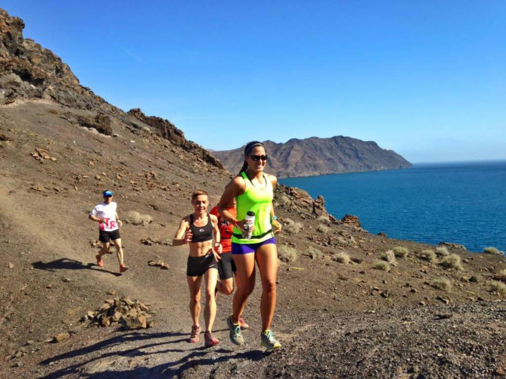 Monika Kalbacher auf Fuerteventura, Trailrun, © Diverse  (23.01.2016)