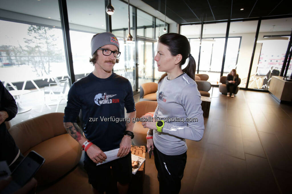 Participants at the Wings for Life World Run event in Munich 23rd of January 2016  (Bild: Daniel Grund) (24.01.2016)