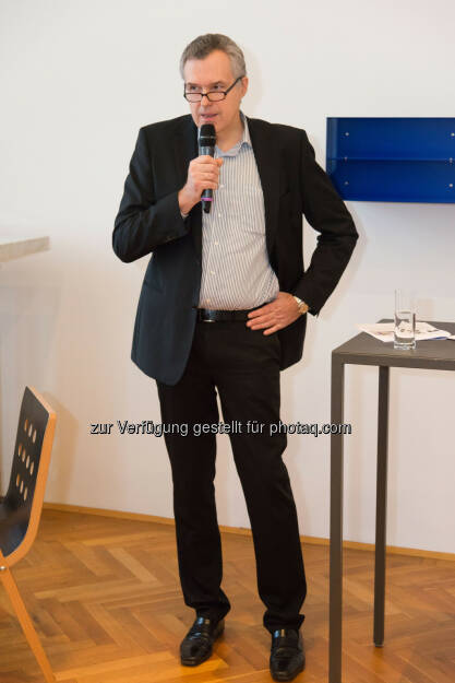 Christoph Thun-Hohenstein, Direktor MAK : Jahrespressekonferenz 2016 : Lebensmuseum in einer neuen Moderne : Fotocredit: MAK/Nathan Murrell, © Aussendung (26.01.2016)