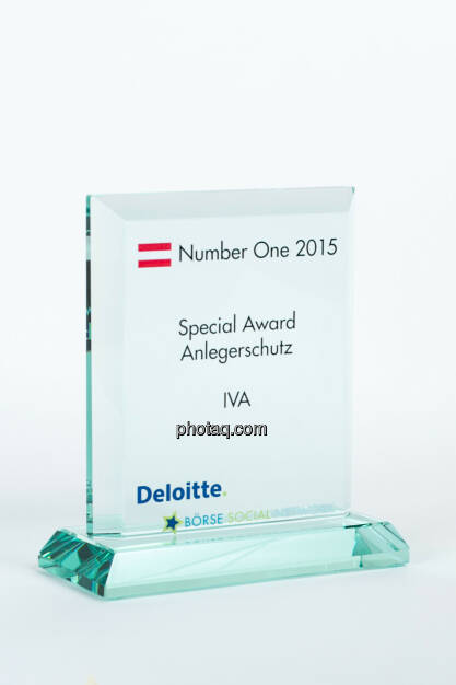 Special Award Anlegerschutz IVA, © photaq/Martina Draper (27.01.2016)