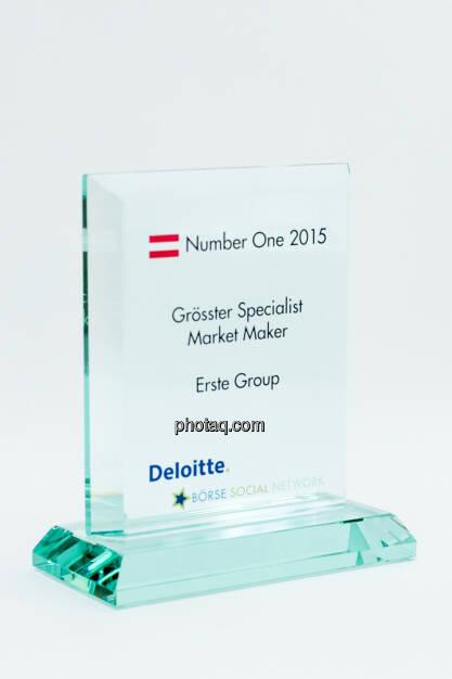 Grösster Specialist Market Maker Erste Group, © photaq/Martina Draper (27.01.2016)
