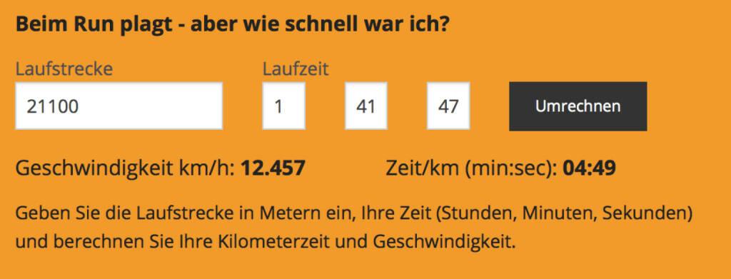 27.1. - HM in 1:41:47, das passt gut für einen Trainingslauf (27.01.2016)