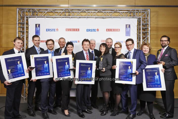 Die IMMY 2015 Gewinner in Gold : IMMY 2015: Wiens Top-Makler ausgezeichnet : Fotocredit: www.weissphotography.at