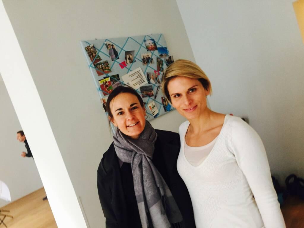 Mit Carola Bendl-Tschiedel und Elisabeth Niedereder (28.01.2016)