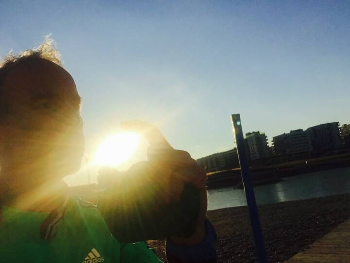 Ein bissl Sonne für die Seestadt