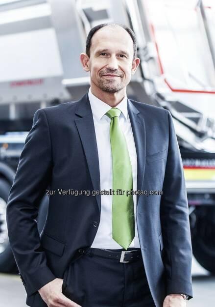 Roland Hartwig wurde zum neuen CEO der Schwarzmüller Gruppe bestellt : Fotocredit: Wilhelm Schwarzmüller GmbH, © Aussendung (02.02.2016)