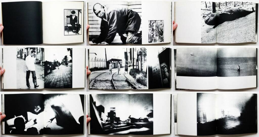 Daido Moriyama - Japan: A Photo Theater (Nippon Gekijō Shashinchō, 森山大道 にっぽん劇場写真帖) 1968, Beispielseiten, sample spreads - http://josefchladek.com/book/daido_moriyama_-_japan_a_photo_theater, © (c) josefchladek.com (02.02.2016)