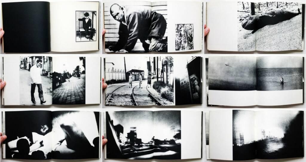Daido Moriyama - Japan: A Photo Theater (Nippon Gekijō Shashinchō, 森山大道 にっぽん劇場写真帖) 1968, Beispielseiten, sample spreads - http://josefchladek.com/book/daido_moriyama_-_japan_a_photo_theater, © (c) josefchladek.com (02.02.2016)