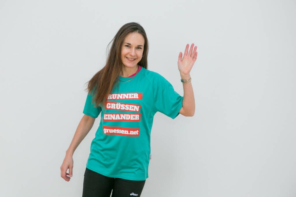 Hello Carola Bendl-Tschiedel im Shirt von http://www.gruessen.net (02.02.2016)