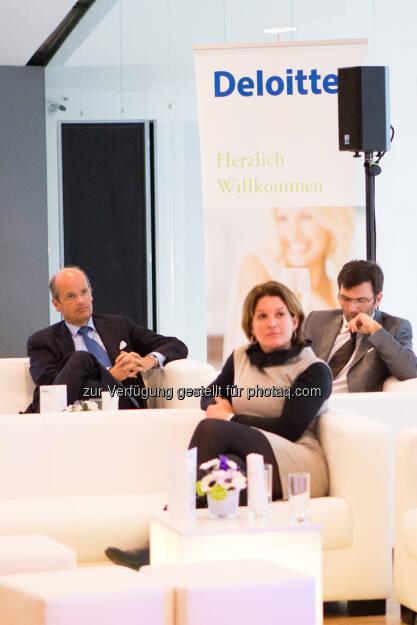 Wolfgang Leitner (Andritz), Christina Hardegg (Mumok), Oliver Pokorny (Andritz), © Franz Reiterer für den Börse Express (mit freundlicher Genehmigung vom Börse Express) (05.04.2013)