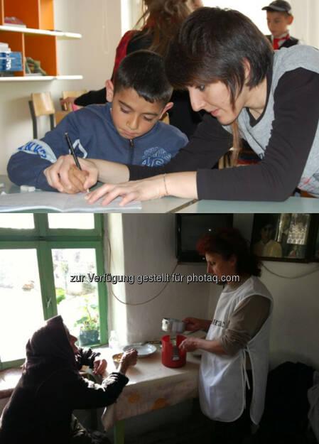 Bildung für Roma Kinder, Essen für ältere Menschen : S Immo AG unterstützt auch 2016 Projekte der Caritas : Fotocredit: Caritas, © Aussender (03.02.2016)