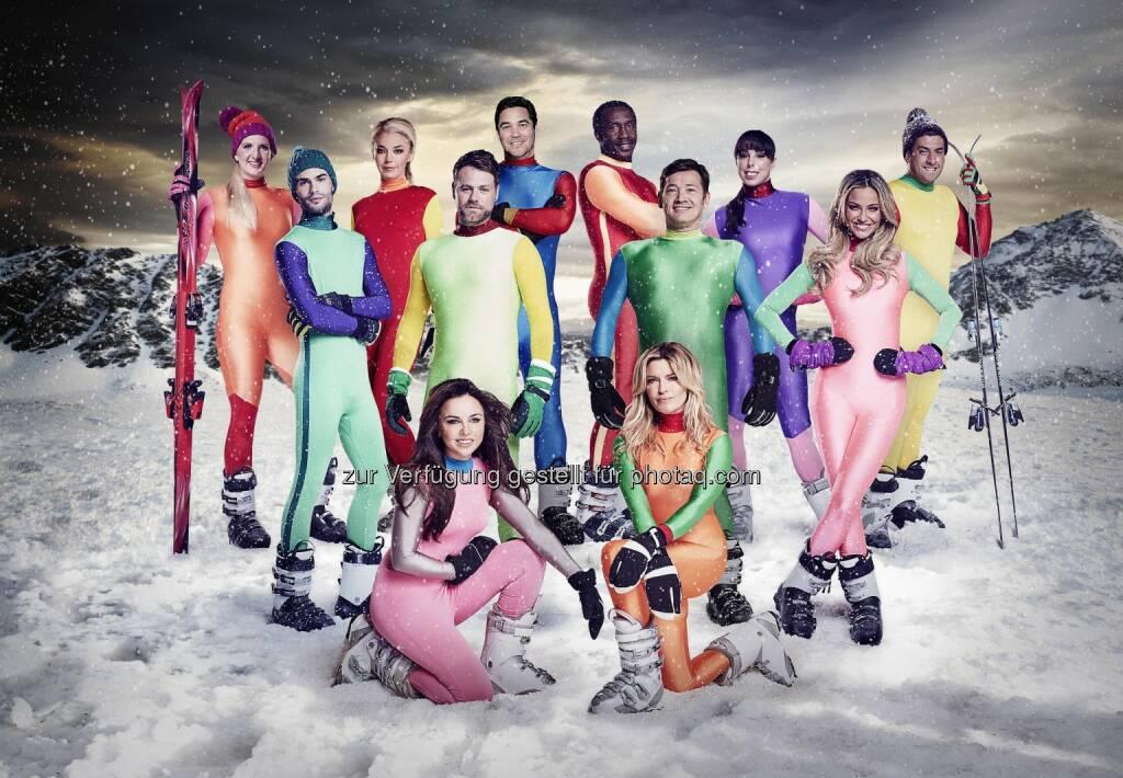 The Jump - Channel 4 Wintersportwettbewerb :  Nach dem großen Erfolg des Wintersportwettbewerbs gastiert The Jump nach 2014 und 2015 heuer erstmals für sechs Live-Übertragungen mit 12 britischen Promis im Kühtai auf 2.020 Metern Seehöhe : Fotocredit: Channel 4 Television, © Aussendung (03.02.2016)